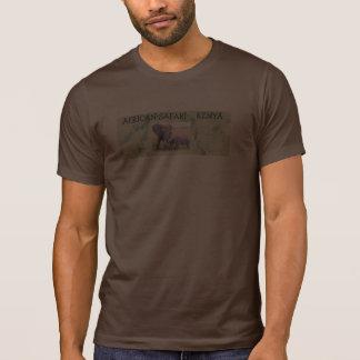 PIC africano do safari Camisetas