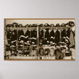 PIC antigo da engrenagem do depósito do estilo Impressão