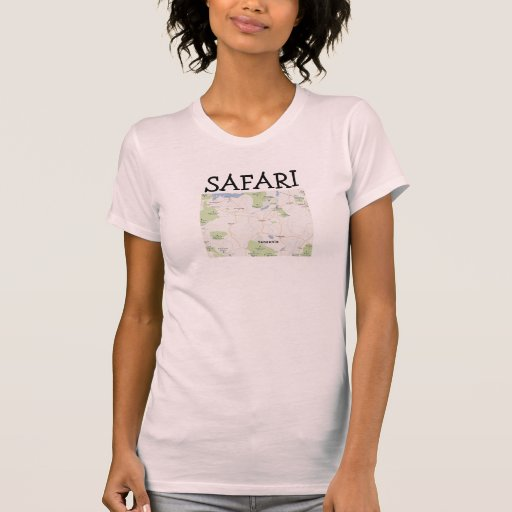 PIC de Tanzânia do safari Tshirts