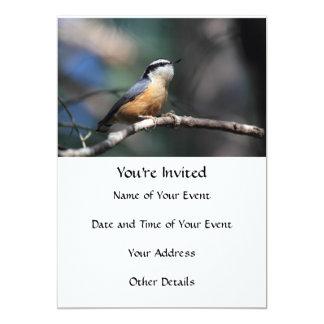 Pica-pau-cinzento Convite Personalizado