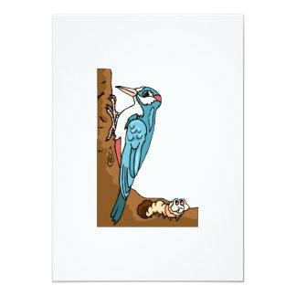 Pica-pau de Winifred Convite 12.7 X 17.78cm