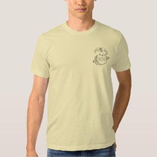 Picareta da bala de canhão do abutre camisetas