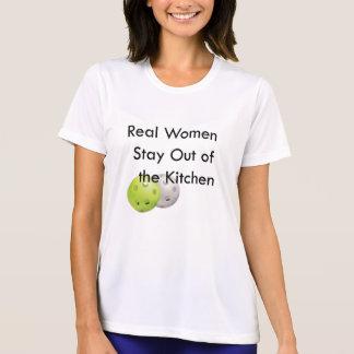 Pickleball, estada fora da cozinha camiseta