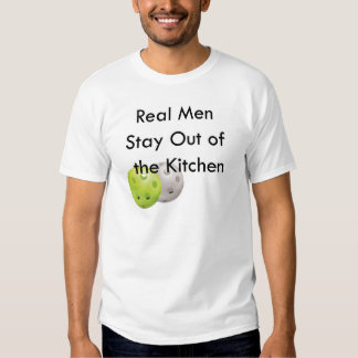 Pickleball, estada fora da cozinha t-shirts