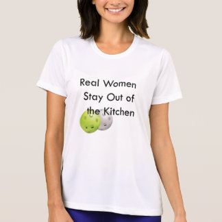 Pickleball, estada fora da cozinha tshirt