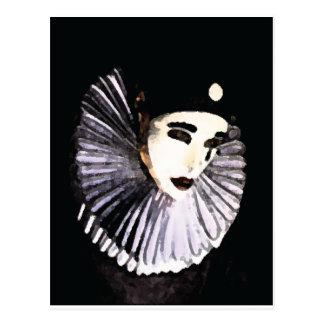 Pierrot Cartão Postal