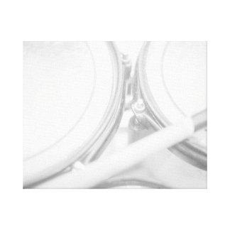 Pilão Toms da porca do talão das bordas lavado par Impressão Em Tela