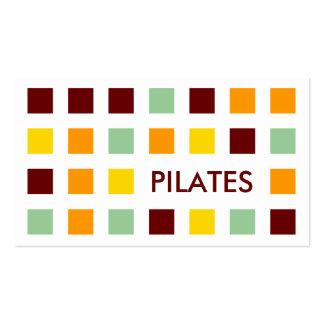 PILATES (quadrados da modificação) Cartão De Visita