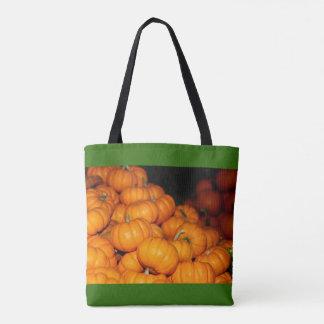Pilha do bolsa das abóboras