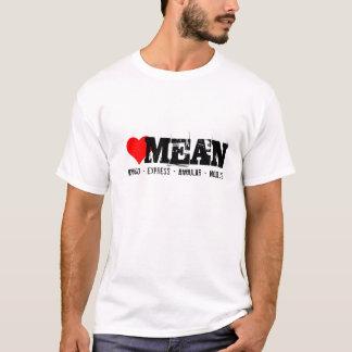 Pilha, mongo expresso, angular e node.js do MEIO T-shirt