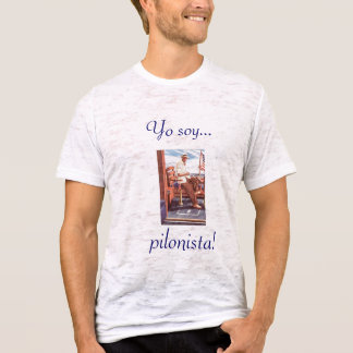 Pilonista da soja de Yo! t-shirt Camiseta