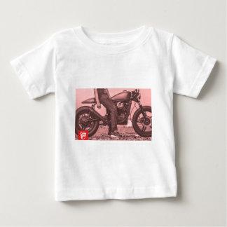 Piloto do café camiseta para bebê