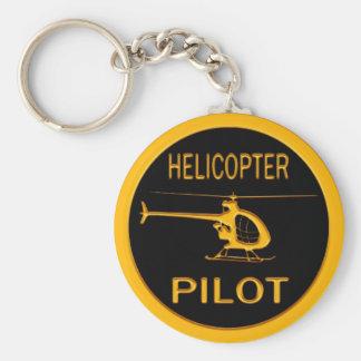 Piloto do helicóptero chaveiro