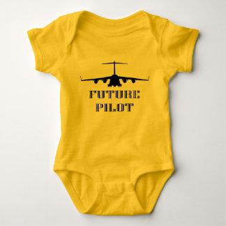 Piloto futuro body para bebê