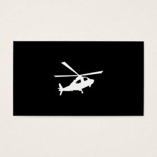 Pilotos do helicóptero cartão de visitas