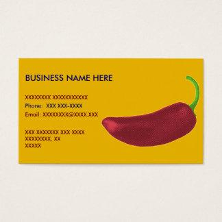 Pimenta de Jalapeño Cartão De Visitas