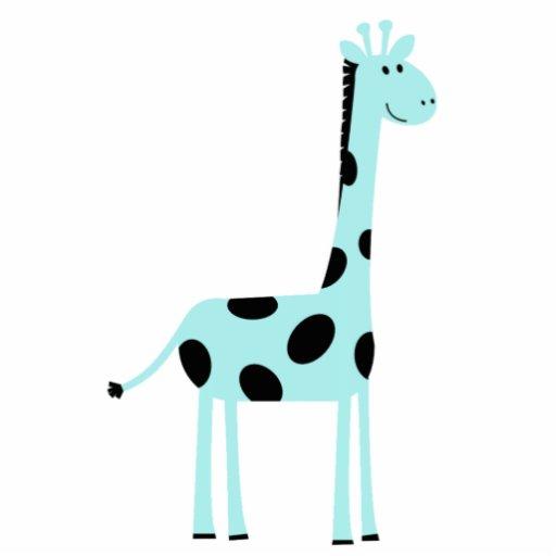 Pin azul do girafa esculturafotos