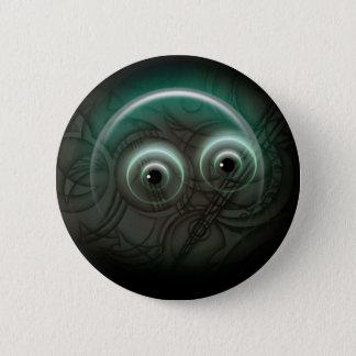 Pin da arte do fulgor da bolha bóton redondo 5.08cm