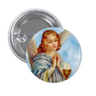 Pin da lapela: O anjo Ponders Bóton Redondo 2.54cm