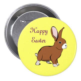 Pin do botão do coelho de felz pascoa bóton redondo 7.62cm