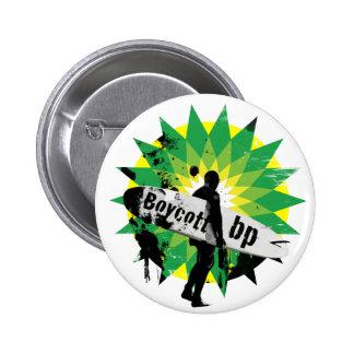 Pin do bp do boicote bóton redondo 5.08cm