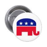 Pin do dom: Elefante republicano Botons