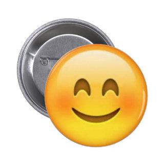 Pin feliz de Emoji Bóton Redondo 5.08cm