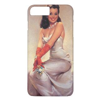 Pin glamoroso do vintage acima com capas de iphone