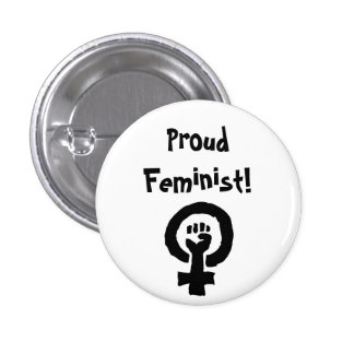 Pin orgulhoso da feminista botons