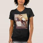 Pin retro da enfermeira de Gil Elvgren do vintage  Camiseta