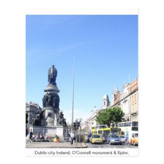 Pináculo de Ireland, Dublin & monumento de Cartão Postal