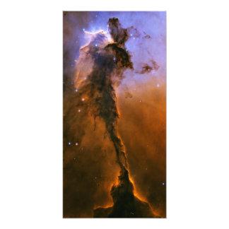 Pináculo do gás na nebulosa de Eagle Impressão De Fotos