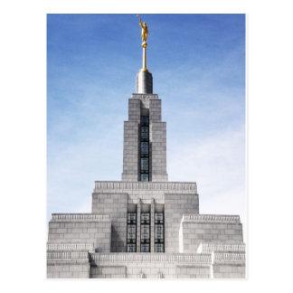 pináculo do templo do ut do negociante de panos do cartão postal
