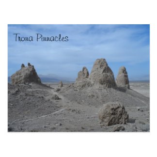 Pináculos do Trona Cartão Postal