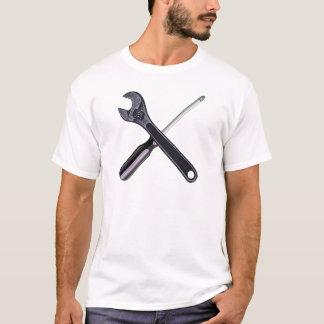 Pinça chave de fenda gripper screwdriver camiseta