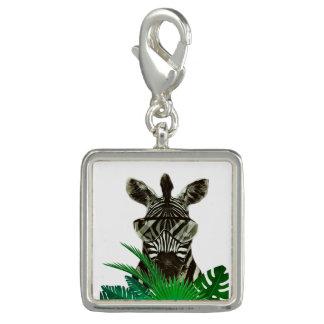 Pingente Animal do estilo da zebra do hipster