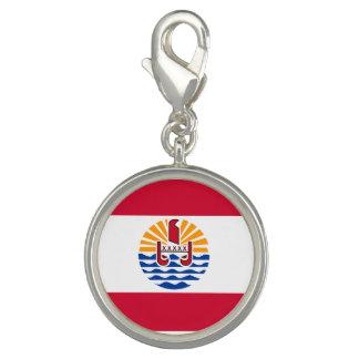 Pingente Bandeira de Polinésia francesa