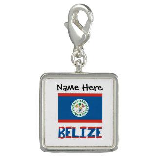 Pingente Bandeira e Belize belizences com nome