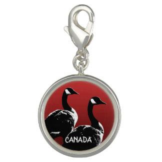 Pingente Canadá encanta a jóia feita sob encomenda da