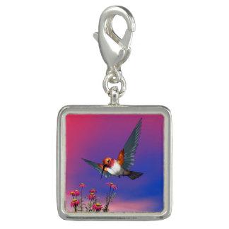 Pingente Colibri Rufous - 3D rendem