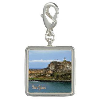 Pingente EL Morro que guarda a entrada da baía de San Juan