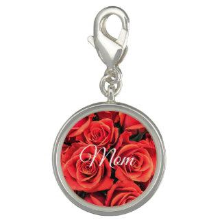 Pingente Encanto dos rosas da mamã