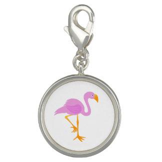Pingente Flamingo dos desenhos animados