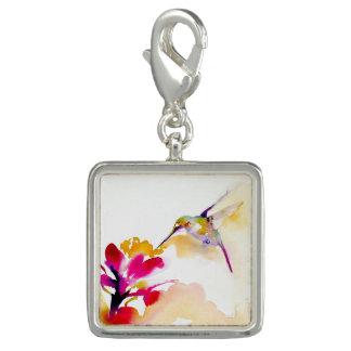 Pingente Impressão Savory do colibri do sorvo