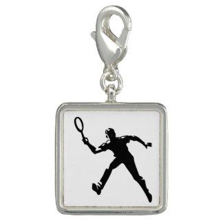 Pingente Jogador de ténis