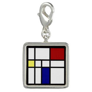 Pingente Mondrian inspirou o design