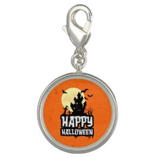 Pingente O Dia das Bruxas feliz