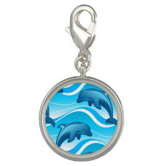 Pingente Ondas de salto do golfinho