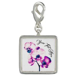 Pingente Orquídeas personalizadas