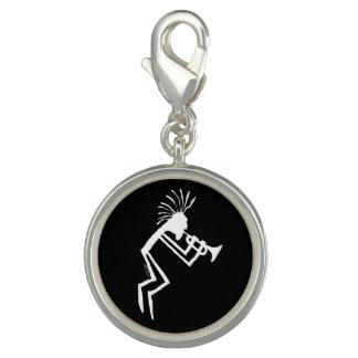 Pingente Petroglyph do jogador de trombeta de Kokopelli